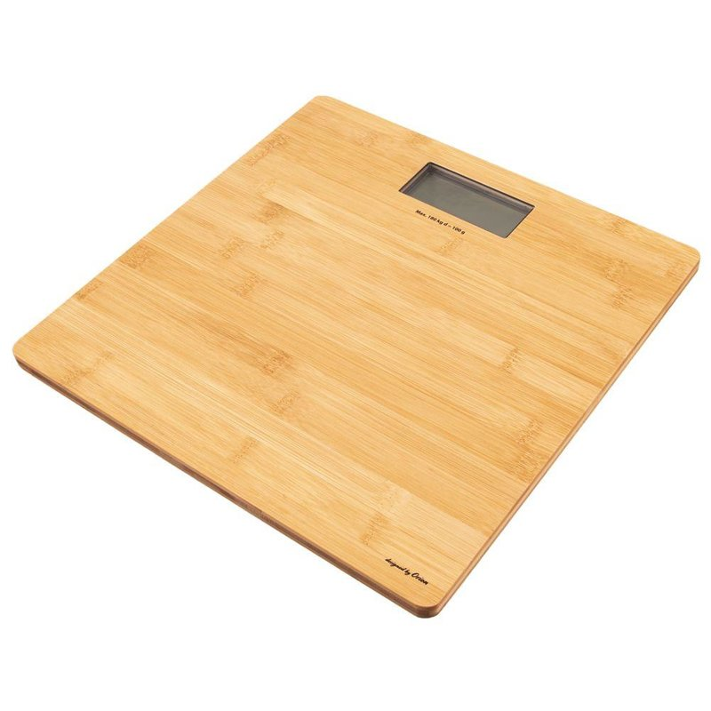 ORION Bathroom scale BAMBOO electronic 180kg