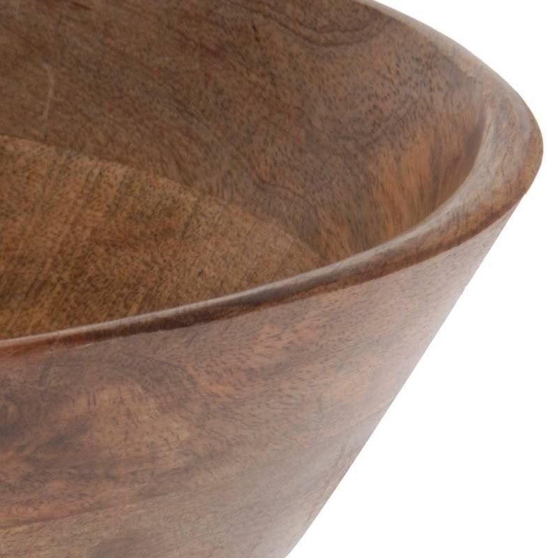 ORION Bowl MANGO for serving meals salads wooden 30 cm