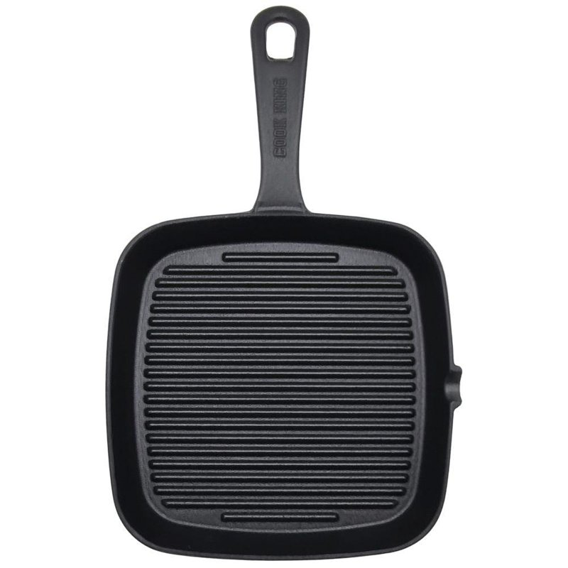 ORION Cast-iron grill pan grill 23x23 cm induction