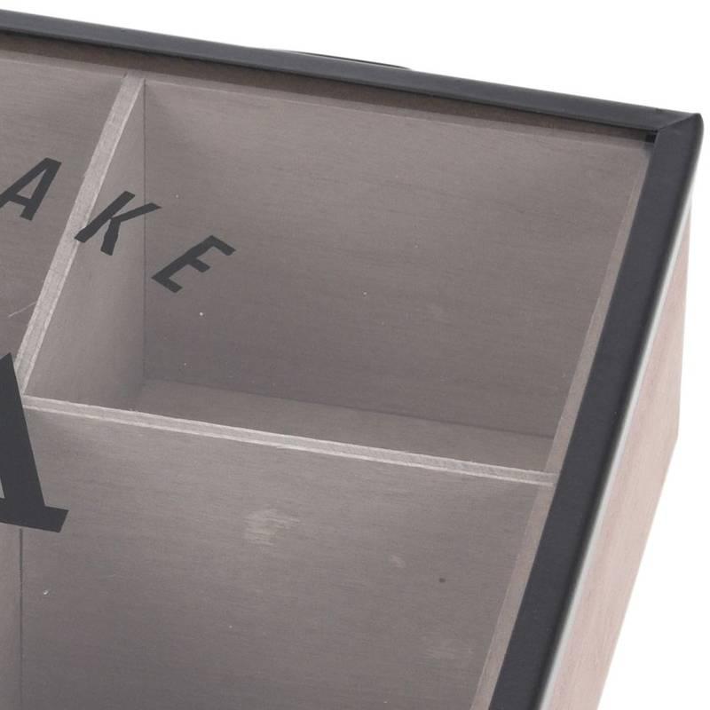 ORION Container TEA BOX organiser box for tea LOFT