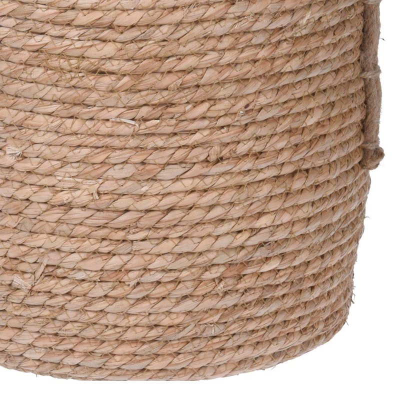 ORION Cover pot BASKET from SEAGRASS for pot flowers plants 34 cm