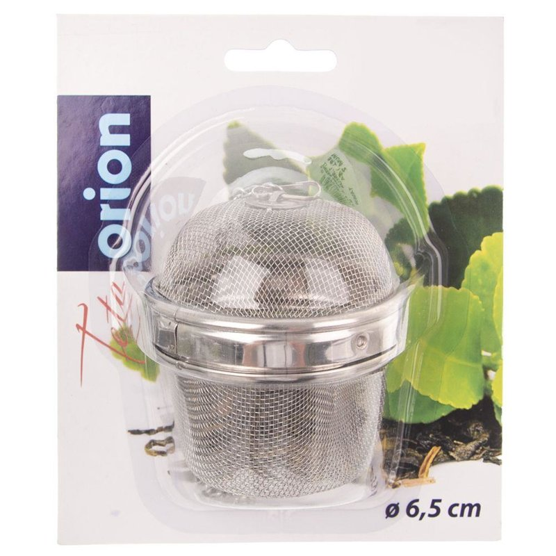ORION Infuser / sieve for tea, herbs 6,5 cm