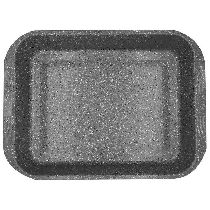 ORION Mold tray for baking cake meat GRANITE 37x27 cm