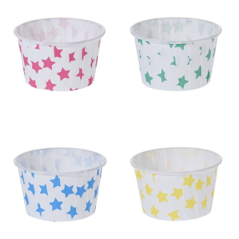 ORION Muffin LINERS for muffins cupcakes ice cream 6,5cm 24 pieces