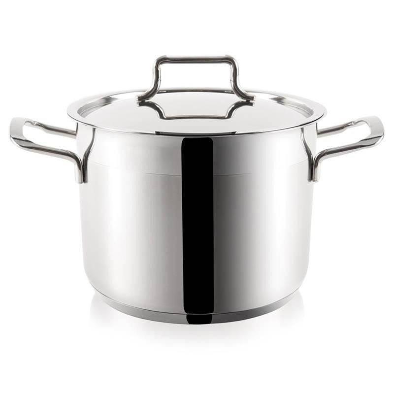 ORION Steel pot with lid 18/10 PREMIUM 14L
