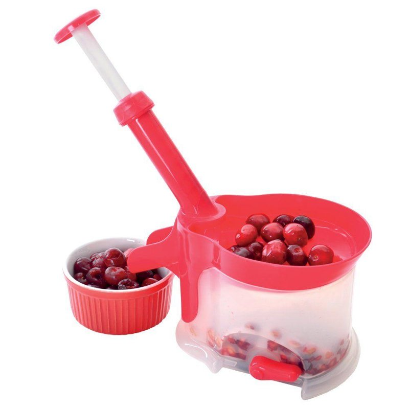 ORION Stoner for wild cherries, sweet cherries with suction pad