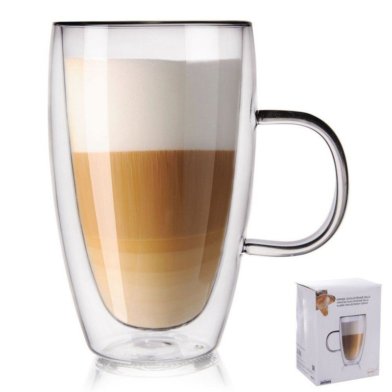 ORION Thermal glass with double wall for COFFEE  0,43L