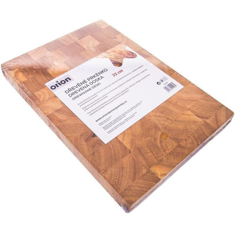 ORION Wooden board gum rubber for cutting 35x25x3,5cm