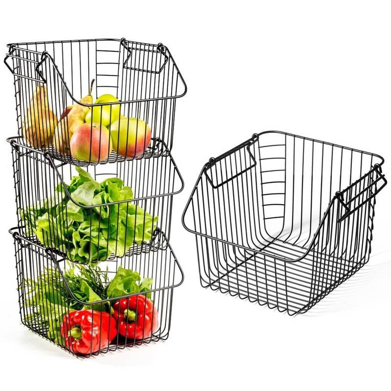 VILDE Basket for fruit vegetables basket stand bowl LOFT