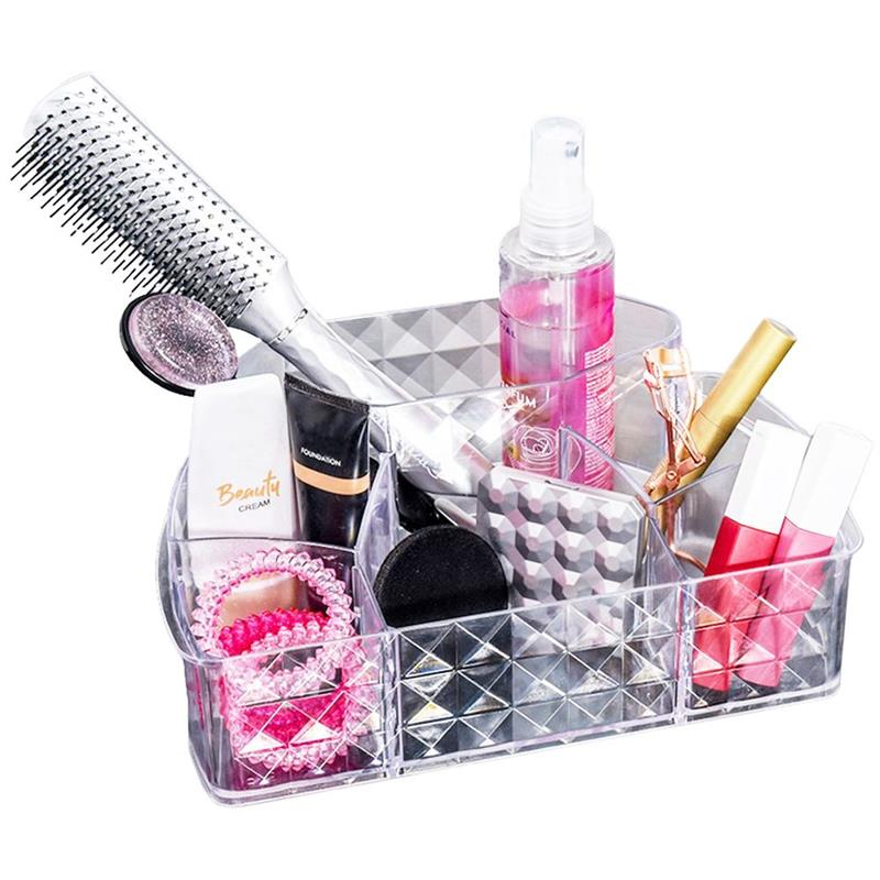 ORION Aufbewahrungsbox Organizer aus Acryl für Kosmetika Make-up-Accessoires Schminkzubehör
