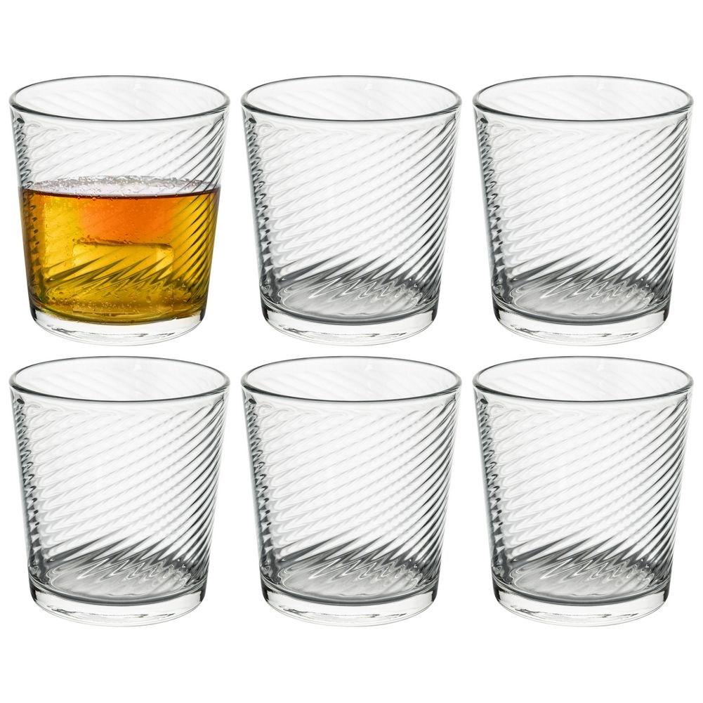ORION Trinkgläser Wassergläser Saftgläser Limonadengläser Drinksgläser 360 ml 6