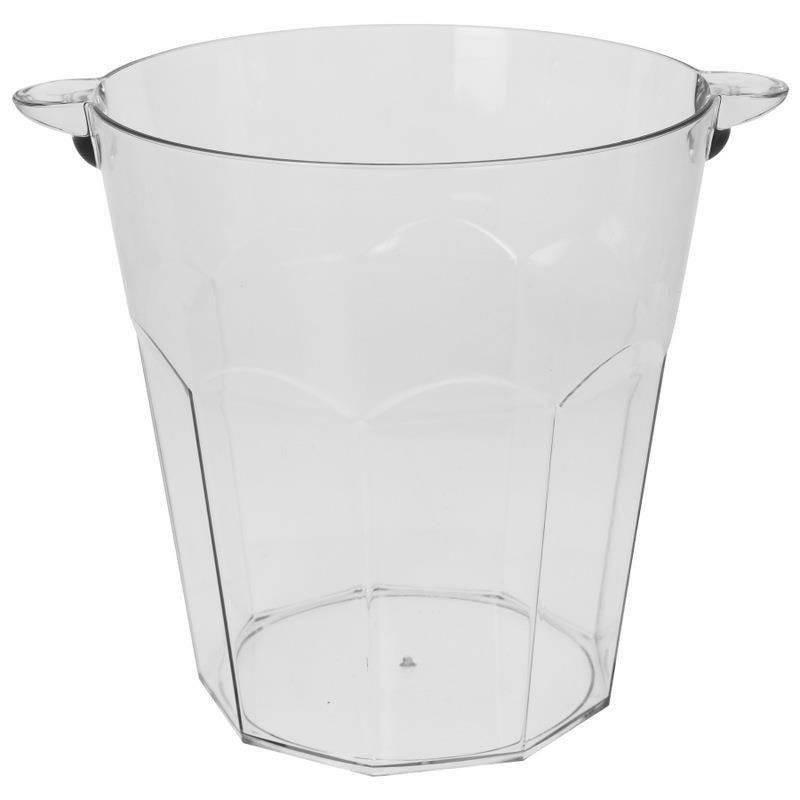 Eiswürfeleimer Eiskübel für Eiswürfel Champagner Weinflasche