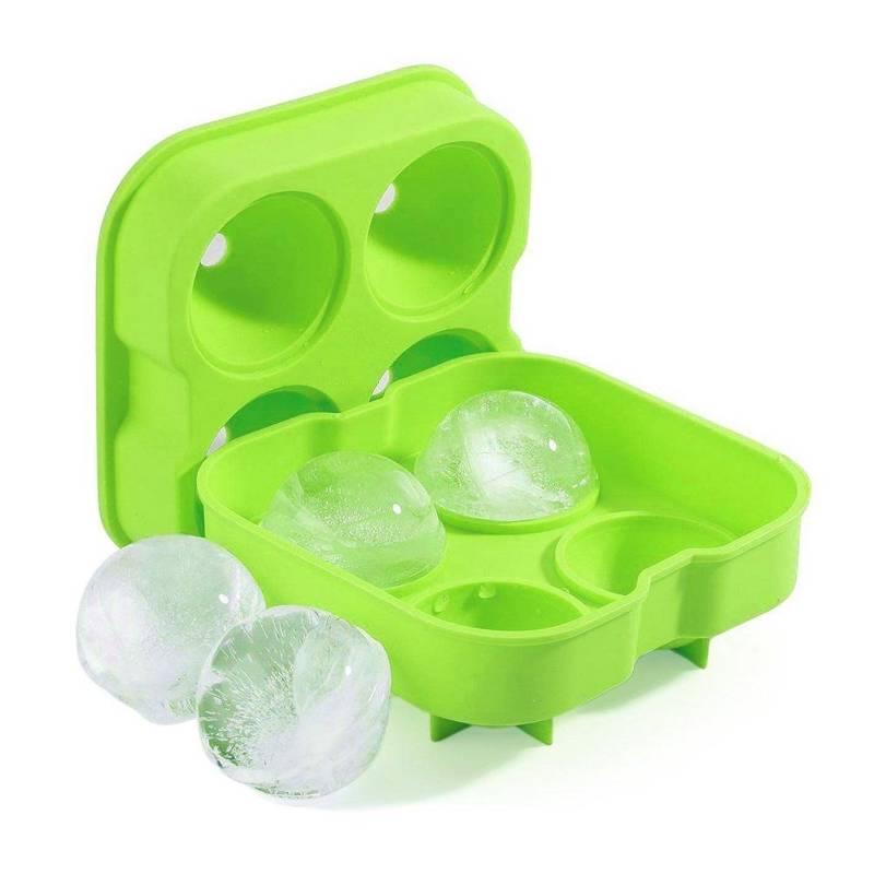 Eiswürfelform Eiskugelform aus Silikon für einfaches Herauslösen von EISKUGELN