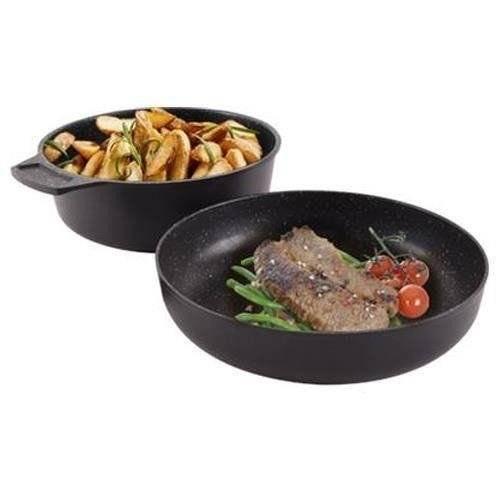 ORION Bratpfanne + Stielkasserolle GRANDE
