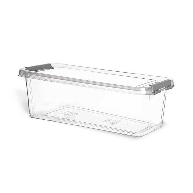 ORION Lebensmittelbehälter mit Deckel RECHTECKIG / Aufbewahrungsbox aus Kunststoff 1,8l