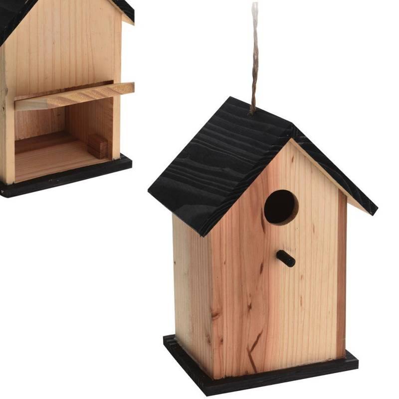 ORION Nistkasten NISTHILFE Nisthäuschen FÜR VÖGEL aus Holz dekorativ