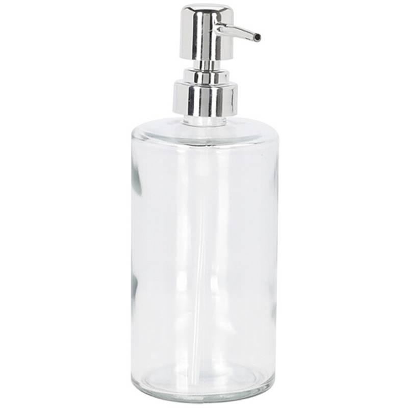 ORION Seifenspender Spülmittelspender aus GLAS für Badezimmer Küche 470 ml