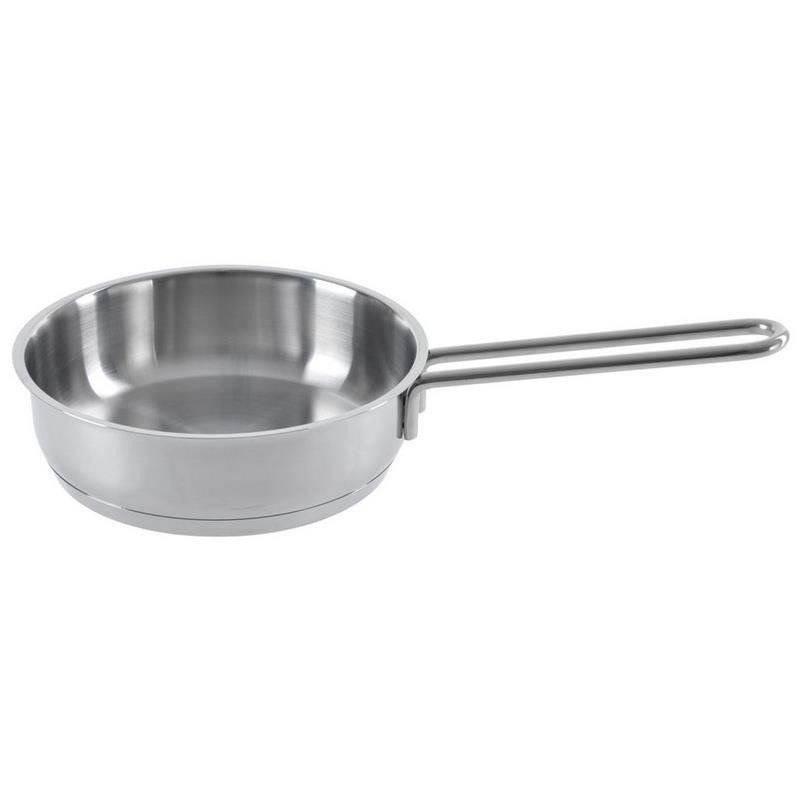 ORION Stielkasserolle / Kochtopf aus Stahl rostfrei 16 cm