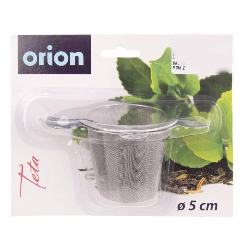 ORION Teesieb Kräutersieb Teefilter zum Aufhängen
