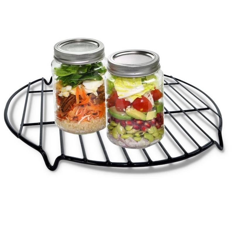 ORION Topf + Zubehör für die Zubereitung von Einmachgläsern / Weckgläsern