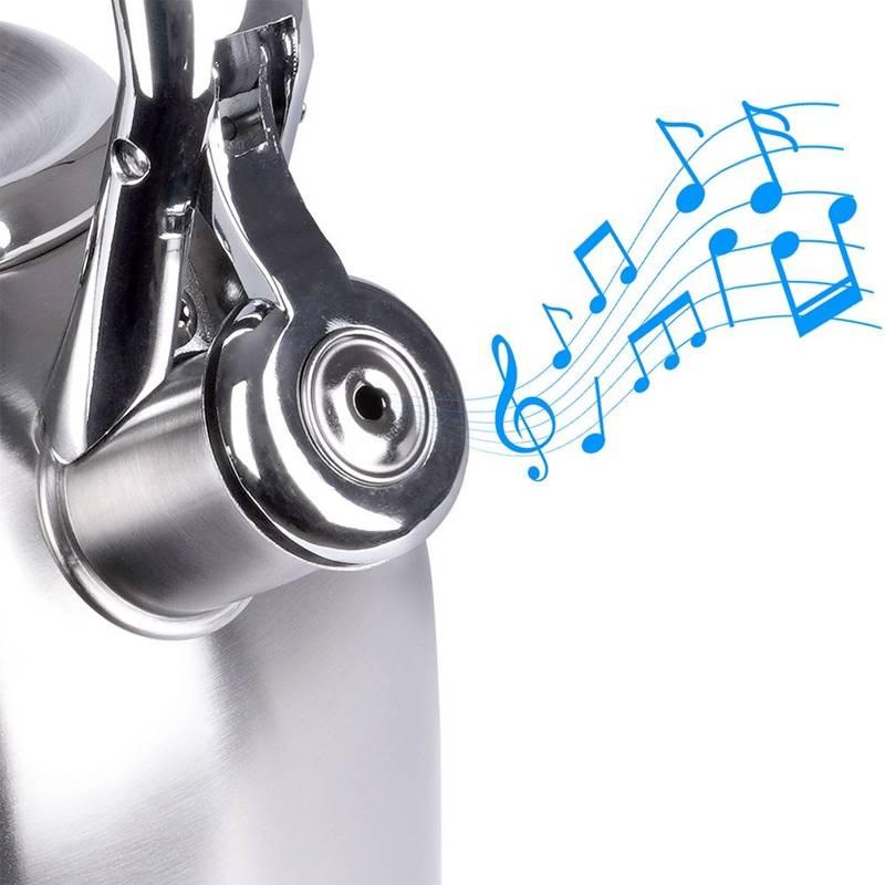 ORION Wasserkessel Wasserkocher Flötenkessel automatisch 2,7L Gas Induktion