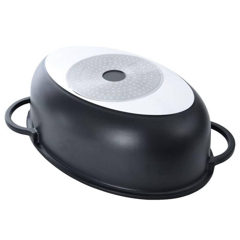 Brytfanna garnek z pokrywą / patelnia grillowa 3w1
