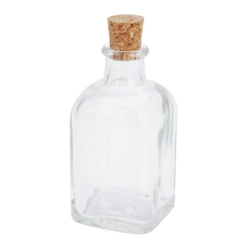 Butelka szklana z korkiem 100 ml RETRO na nalewkę do nalewki