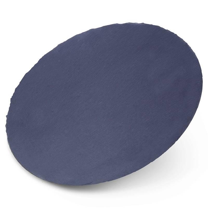 Deska TACA KAMIENNA podstawka łupek 30 cm talerz kamienny