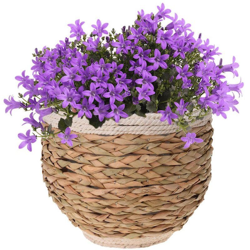 Doniczka, osłonka pleciona, na kwiaty, rośliny, 32x26 cm