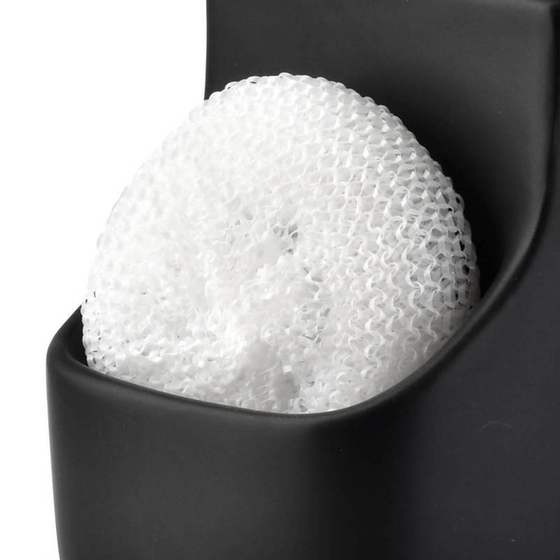 Dozownik do mydła w płynie żelu płynu do naczyń czarny