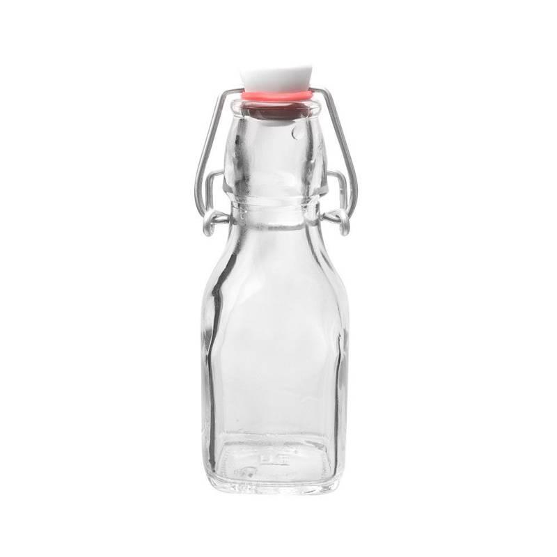 Dozownik do oliwy, octu, butelka szklana z klipsem na oliwę, ocet, 125 ml