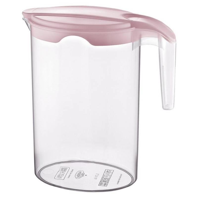 Dzbanek do napojów plastikowy z pokrywką 1,75L