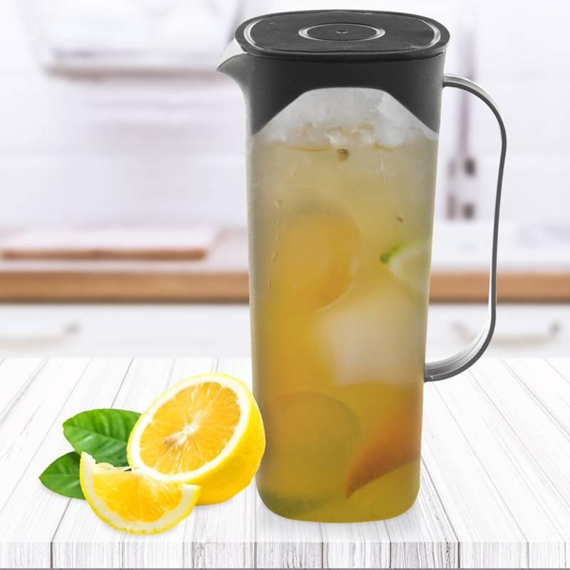 Dzbanek do napojów, wody, kompotu, lemoniady, soku, 1,8 l, z pokrywką, uchwytem, dzióbkiem