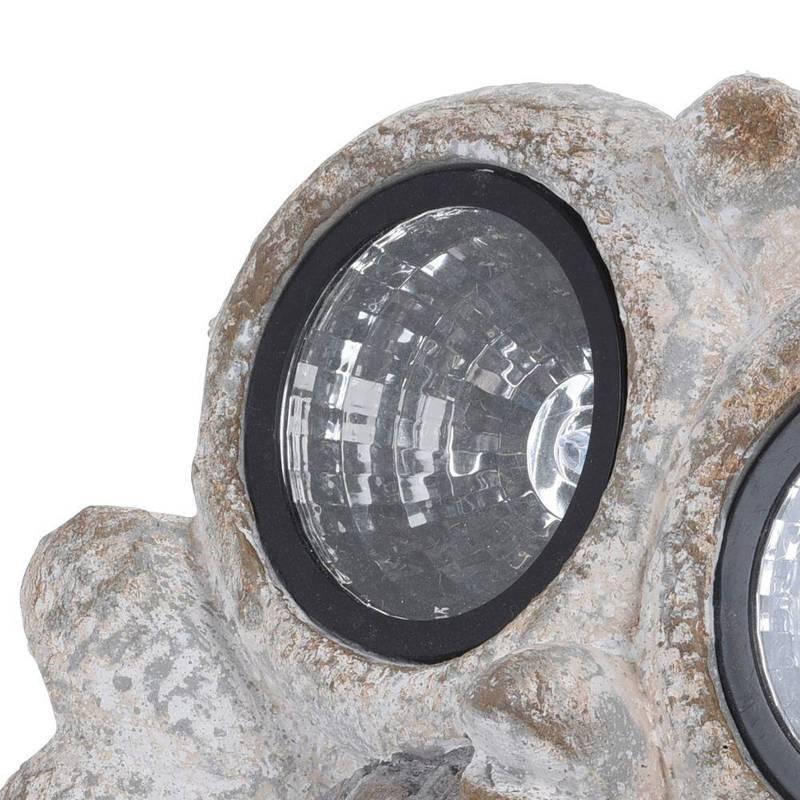 Figurka ogrodowa KURA kurczątką lampa solarna LED ozdoba