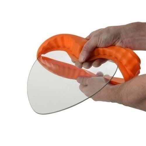 Forma tortownica silikonowa ze szklanym dnem SERCE