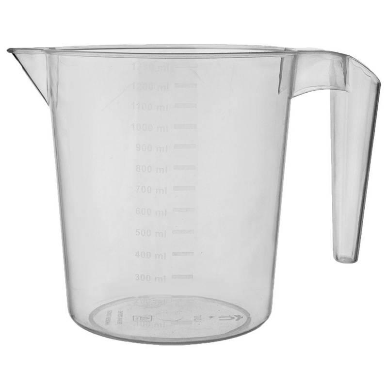 Miarka kuchenna do odmierzania płynu, cieczy, kubek z miarką, uchwytem, 1,3L