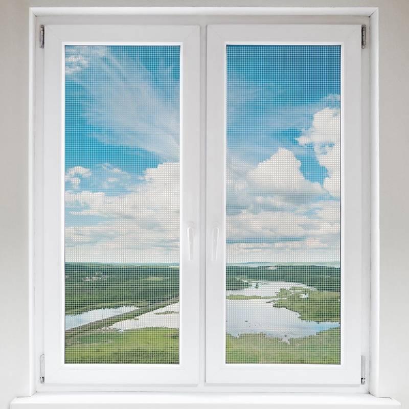 Moskitiera, siatka na okno, okienna, owady, komary, 2x, biała