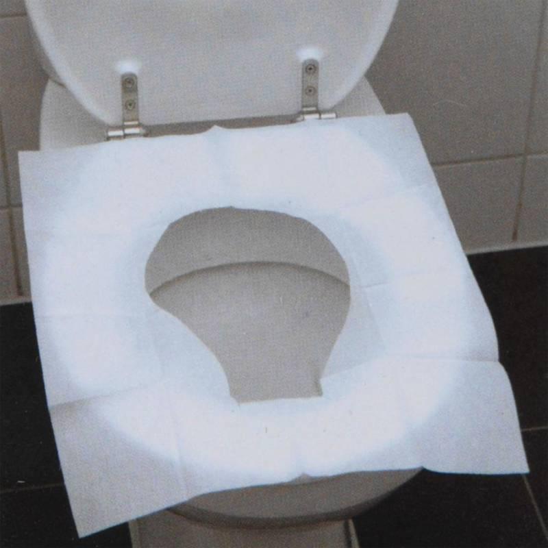 Nakładka higieniczna jednorazowa na sedes deskę sedesową 10 sztuk