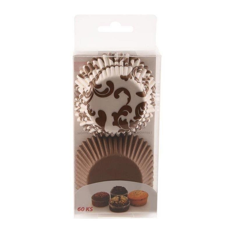 Papilotki do muffinek śr. 6,5 cm - 60 szt