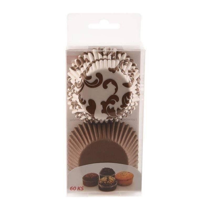 Papilotki do muffinek śr. 7 cm - 60 szt
