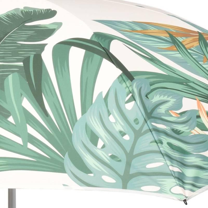 Parasol plażowy, ogrodowy, 180 cm, regulowany, liście
