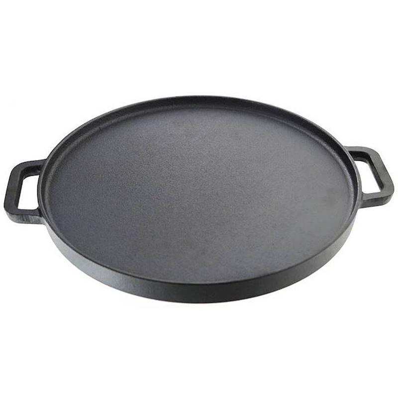 Patelnia żeliwna grillowa grill 30 cm indukcja