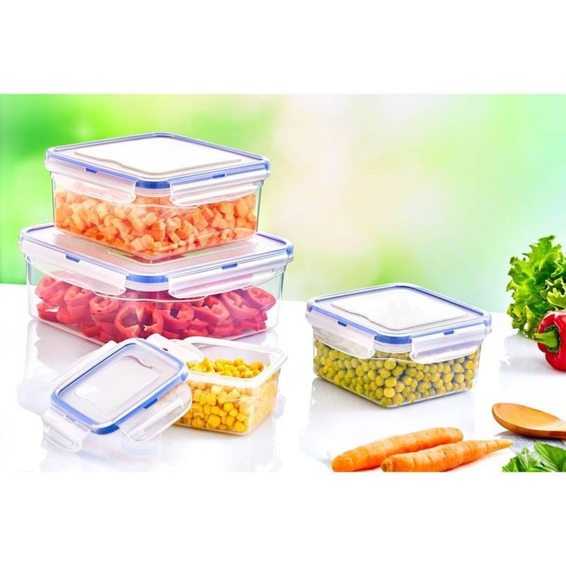 Pojemnik do żywności z uszczelką 1,4L prostokątny