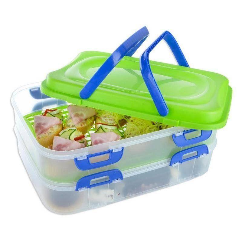 Pojemnik na PIKNIK koszyk do przenoszenia żywności
