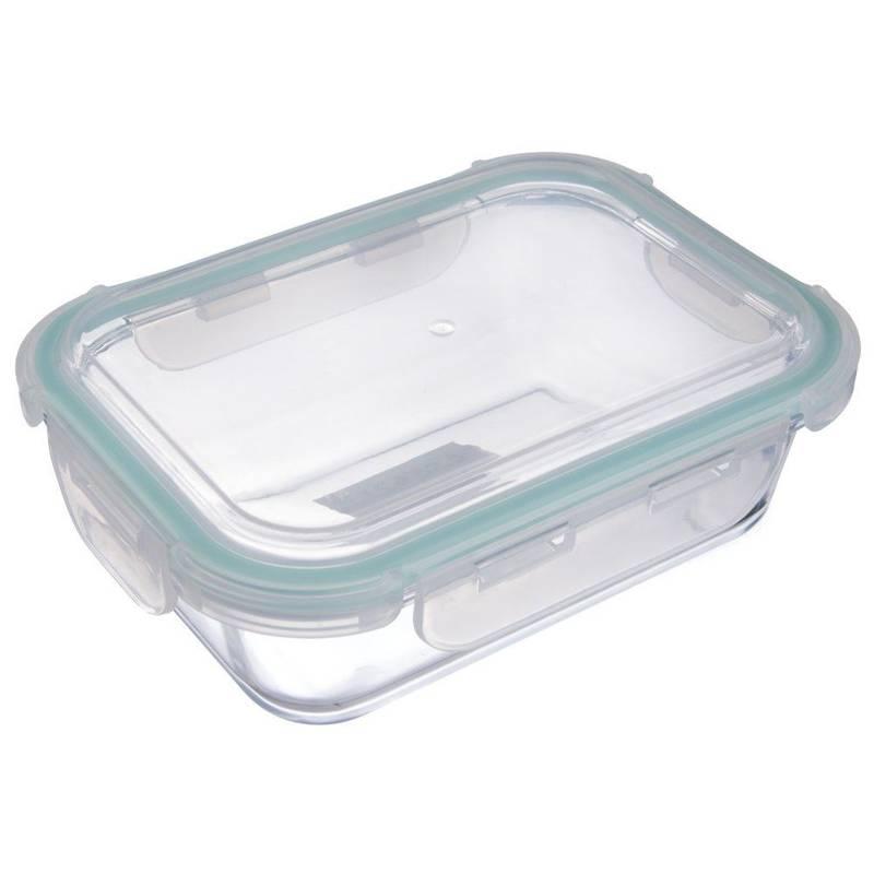 Pojemnik na żywność szklany hermetyczny 22x16,5 cm
