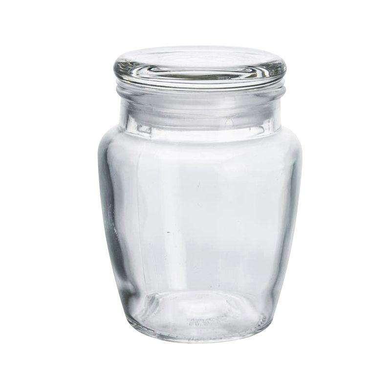 Pojemnik szklany słoik z uszczelką na przyprawy zioła 150 ml