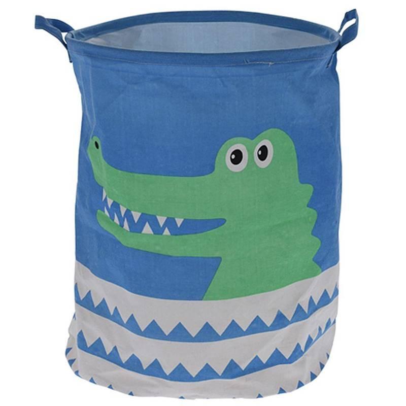 Pojemny kosz na zabawki, worek do przechowywania zabawek, koszyk, pojemnik, krokodyl