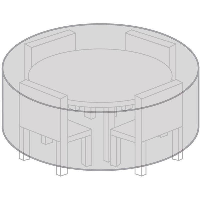 Pokrowiec na stół ogrodowy okrągły 170 cm odporny