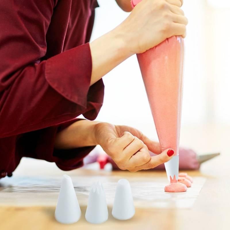 Rękaw cukierniczy / worek / dekorator +tylki 12el.