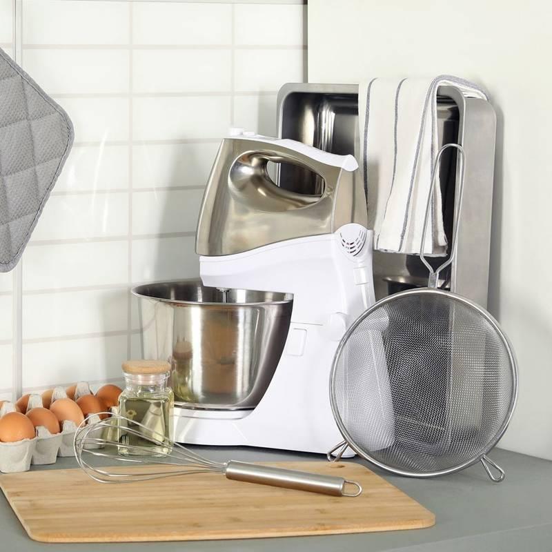 Sitko kuchenne stalowe cedzak durszlak 14 cm